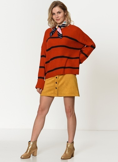 Vero Moda Triko Oranj